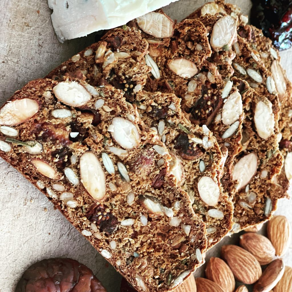 Fig and Almond Crackers
